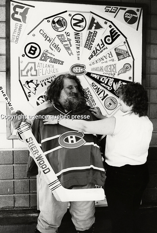 August 1st 1980 Fle Photo Montreal (Qc) Canada<br />  -the great Antonio (Grand Antonio)