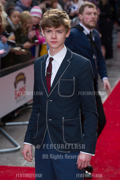 Thomas Sangster arrives for the Empire Awards 2015 at the Grosvenor House Hotel, London. 29/03/2015 Picture by: Dave Norton / Featureflash