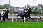 Siyouma (IRE)(3) with Jockey Gerald Mosse aboard wins the E.P. Taylor Stakes (Grade 1) at Pattison Canadian International  in Toronto, Canada on October 14, 2012.