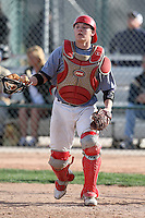 January 17, 2010:  Hunter Lockwood (Bedford, TX) of the Baseball Factory Midwest Team during the 2010 Under Armour Pre-Season All-America Tournament at Kino Sports Complex in Tucson, AZ.  Photo By Mike Janes/Four Seam Images