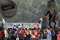 26.04.2019 - Professores protestam contra a reforma da previdência em SP