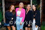 Mary Healy from Ballymac celebrating her 21st birthday in Molly J's on Thursday. L to r: Hannah O'Connor, Mary Healy, Chloe Gaudino and Amy Walsh.
