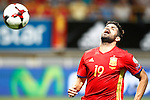 Spain's Diego Costa during FIFA World Cup 2018 Qualifying Round match. September 5,2016.(ALTERPHOTOS/Acero)