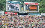 Fiji vs Sri Lanka during the Cathay Pacific / HSBC Hong Kong Sevens at the Hong Kong Stadium on 29 March 2014 in Hong Kong, China. Photo by Juan Flor / Power Sport Images
