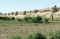 The great wall of Balkh Afghanistan.