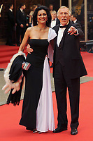 Bruce and Wilnelia Forsyth dies at 89 retro set - <br /> Arrives at the BAFTA TV Awards 2008 Palladium Theatre, London<br /> ©Ash Knotek  D1543 20/04/2008<br /> Contact:  snappers@mac.com