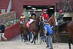 March 14, 2020: Excession (2) with jockey Tyler Baze aboard during the Rebel Stakes at Oaklawn Racing Casino Resort in Hot Springs, Arkansas on March 14, 2020. Justin Manning/Eclipse Sportswire/CSM