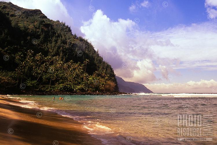 Kee Beach, Haena Beach Park, Island of Kauai