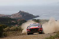 5th June 2021; Monte Acuto, Sardinia; WRC rally of Italia Sardinia; Thierry Neuville-Hyundai i20 WRC