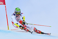 February 17, 2017: Ondrej BERNDT (CZE) competing in the men's giant slalom event at the FIS Alpine World Ski Championships at St Moritz, Switzerland. Photo Sydney Low