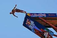 12th June 2021, Saint-Raphaël, Provence-Alpes-Côte d'Azur, France; Red Bull Cliff Diving competition;  Matthew COOPER (USA)