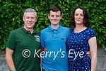 Caoimhín Murphy, Conor Murphy and Maria Galvin (Abbeydorney) at the confirmation last Thursday in St Brendan's Church, Clogher.