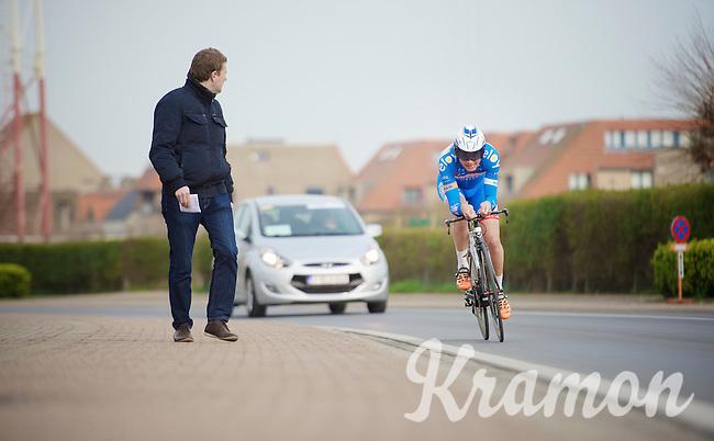 Jan Ghyselinck (BEL)<br /> <br /> 3 Days of West-Flanders 2014<br /> day 1: TT/prologue Middelkerke 7,0 km