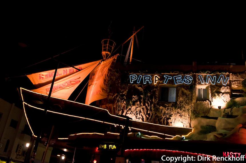 Zypern (Süd), Disco Pirates Inn in Agia Napa