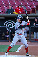 Great Lakes Loons outfielder Gage Green (14) at bat during a Midwest League game against the Wisconsin Timber Rattlers on April 26th, 2016 at Fox Cities Stadium in Appleton, Wisconsin.  Wisconsin defeated Great Lakes 4-3. (Brad Krause/Four Seam Images)