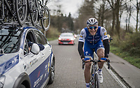 A cheerful Marcel Kittel (GER/Quick Step Floors) rolling towards his record 5th Scheldeprijs win<br /> <br /> 105th Scheldeprijs 2017 (1.HC)<br /> 1 Day Race: Mol › Schoten (BEL/202km)