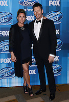Harry Connick Jr. + wife Jill Goodacre @ the American Idol Farewell Season finale held @ the Dolby Theatre.<br /> April 7, 2016