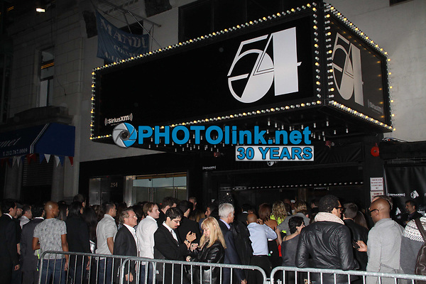 crowd<br /> at Sirius XM radio reopens Studio 54<br /> ''One Night Only'' 10-18-2011<br /> Photo By John Barrett/PHOTOlink.net