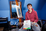 Casey Etherton from Caherdaniel is the winner in this year's 66th Texaco Children's Art Competition with his painting of 'Kevin In The Pink'.
