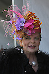 April 29 201: Kentucky Derby scene hats are the thing . Sue Kawczynski/ESW/CSM
