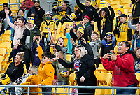 30th April 2021; Wellington, New Zealand;  Fans.  Hurricanes versus  Highlanders, Super Rugby, Sky Stadium, Wellington New Zealand, Friday 30 April 2021.