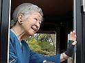 Japanese Emperor and Empress visit Kodomonokuni park