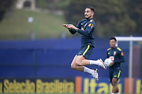 11th November 2020; Granja Comary, Teresopolis, Rio de Janeiro, Brazil; Qatar 2022 qualifiers; Alex Telles of Brazil during training session in Granja Comary