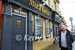 Andy Pierse owner of the Star & Garter Bar, Listowel.