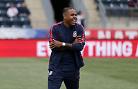 Chester, PA - Monday May 28, 2018: Weston McKennie during an international friendly match between the men's national teams of the United States (USA) and Bolivia (BOL) at Talen Energy Stadium.