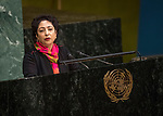 """General Assembly Seventy-second session, 28th plenary meeting<br /> Report of the Secretary-General on the work of the Organization (A/72/1)<br /> <br /> <br /> <br /> """"PAKISTAN"""" Not INDIA :("""