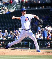 Alec Mills - Chicago Cubs 2020 spring training (Bill Mitchell)