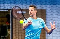 Amstelveen, Netherlands, 14  December, 2020, National Tennis Center, NTC, NK Indoor, National  Indoor Tennis Championships, Qualifying:  Jasper Smit (NED) <br /> Photo: Henk Koster/tennisimages.com