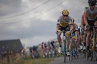 Sep Vanmarcke (BEL/LottoNL-Jumbo) along the way<br /> <br /> 101st Kampioenschap van Vlaanderen 2016 (UCI 1.1)<br /> Koolskamp › Koolskamp (192.4km)