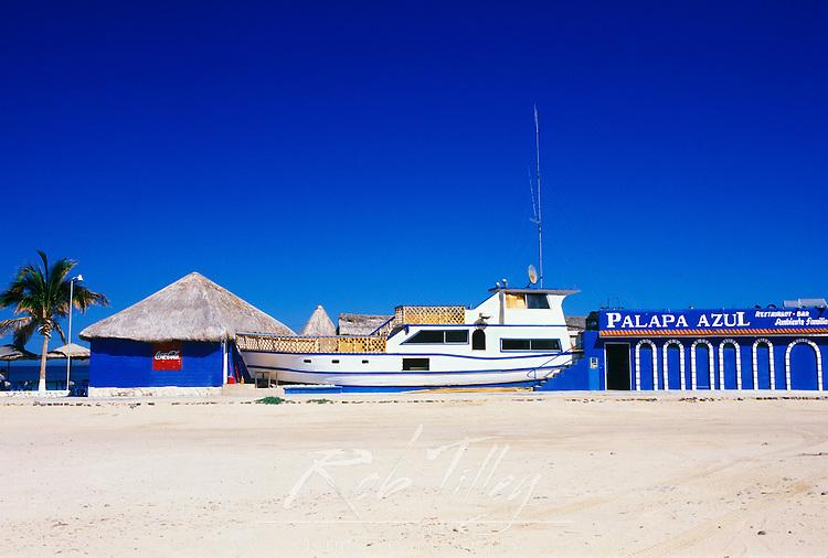 Mexico, Baja California Sur, La Paz, Playa El Tecolote