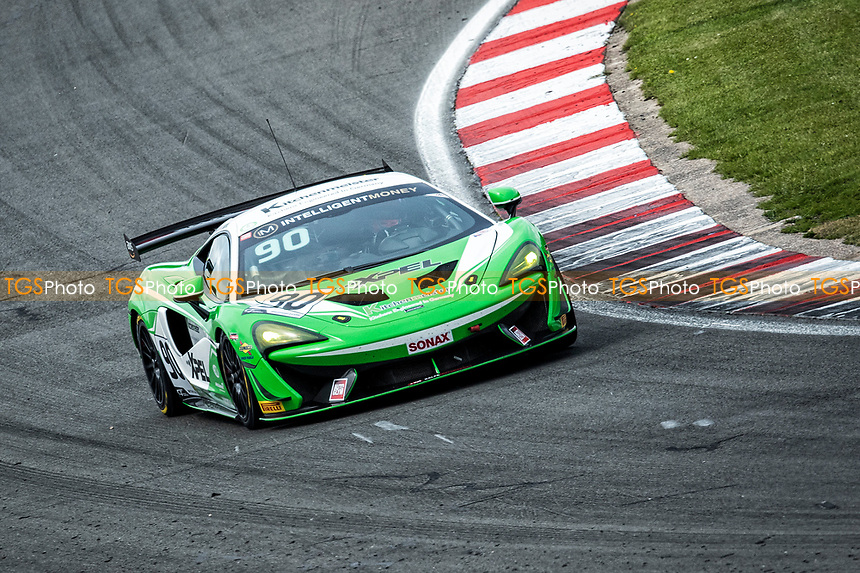 Jack Brown & Ashley Marshall, McLaren 570S GT4, Bale Motorsport through Craners during the British GT & F3 Championship on 10th July 2021