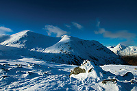 Creise and Sron na Creise from the Munro of Meall a' Bhuiridh, Highland