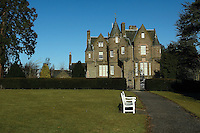 Balhousie Castle, headquarters of the Black Watch Regiment, Perth<br /> <br /> Copyright www.scottishhorizons.co.uk/Keith Fergus 2011 All Rights Reserved