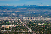 Denver, Colorado. Looking west. Aug 21, 2014.  812962