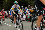 Irish Champion Sam Bennett (IRL) Deceuninck-Quick Step climbs Col de Marie Blanque during Stage 9 of Tour de France 2020, running 153km from Pau to Laruns, France. 6th September 2020. <br /> Picture: Colin Flockton   Cyclefile<br /> All photos usage must carry mandatory copyright credit (© Cyclefile   Colin Flockton)