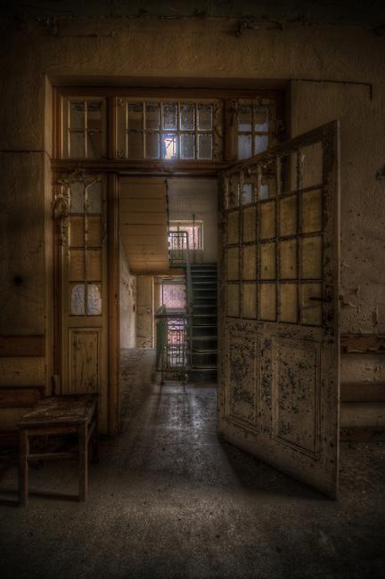 An old chest clinic.<br /> Heimstätte für Brustkranke