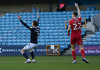 Jed Wallace of Millwall complains to the referee during Millwall vs Nottingham Forest, Sky Bet EFL Championship Football at The Den on 19th December 2020