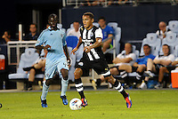 James Tavernier Newcastle United in action... Sporting Kansas City and Newcastle United played to a scoreless tie in an international friendly at LIVESTRONG Sporting Park, Kansas City, Kansas.
