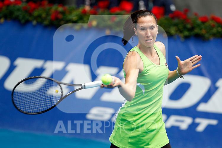 Jelena Jankovic during Madrid Open Tennis 2012 Match.May, 7, 2012(ALTERPHOTOS/ALFAQUI/Acero)