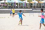 Teruki Tabata (JPN),<br /> APRIL 20, 2014 - Beach Soccer :<br /> Beach Soccer Japan national team candidates training camp in Okinawa, Japan. (Photo by Wataru Kohayakawa/AFLO)