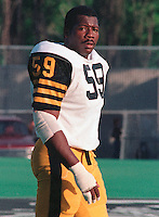 Rod Skillman HamiltonTiger Cats 1984. Copyright photograph Scott Grant