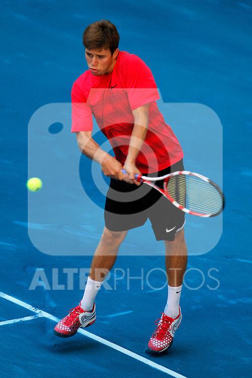 Ryan Harrison during Madrid Open Tennis 2012 Match.May, 9, 2012(ALTERPHOTOS/ALFAQUI/Acero)