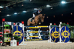 Olivier Philippaerts of Belgium rides Cabrio van de Heffinck at the Longines Grand Prix during the Longines Hong Kong Masters 2015 at the AsiaWorld Expo on 15 February 2015 in Hong Kong, China. Photo by Xaume Olleros / Power Sport Images