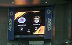 26.11 2020 Rangers v Benfica: Full time score
