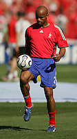 Jean-Alain Boumsong of France. France and Switzerland played to a 0-0 tie in their FIFA World Cup Group G match at the Gottlieb-Daimler-Stadion, Stuttgart , Germany, on Tuesday, June 13, 2006.