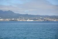 Blick auf Fort-de-France auf Martinique